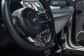 mustang steering wheels 2018 ford mustang look refresh since ponycar went
