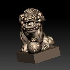 foo dogs free 3d printer file guardian lions or foo dogs cults