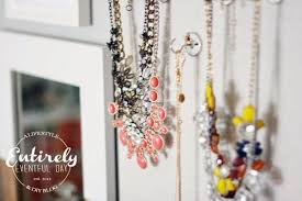 How To Make Magnetic Jewelry - diy magnetic jewelry board organizer entirely eventful day