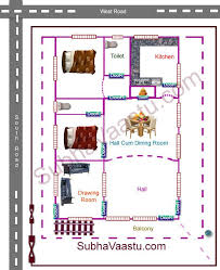 southwest house vastu floor plan nairuthi home plan