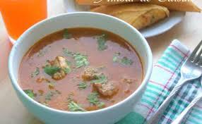recette amour de cuisine recettes de blé par amour de cuisine chorba au blé vert concassé