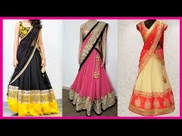 designer half saree collections designer half sarees