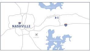 Downtown Nashville Map Area Map Location Nichols Vale
