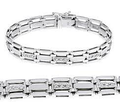bracelet gold white gold images White gold mens chains http www jpg