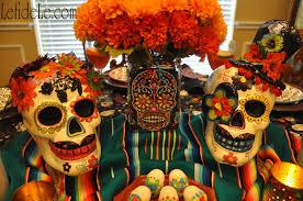 dia de los muertos day of the dead themed halloween dinner party