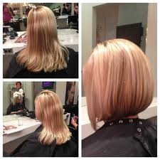 bob haircut before and after merewether hair studio newcastle