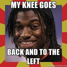 Injury Meme - robert griffin iii s knee injury met with memes twitter outrage