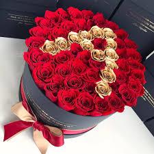 the million roses europe medium custom personalised box