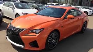 lexus rc f red interior new orange 2015 lexus rc f walk around review solar flare west