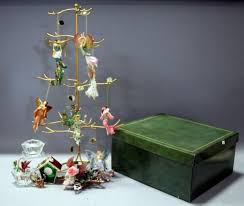 keepsake ornament tree with ashton garden of glass and on