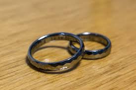 wedding bands images the pros and cons of tungsten wedding bands