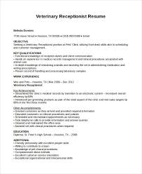 dental receptionist resumes resume objective examples for dental