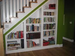 under stair bookcase home design