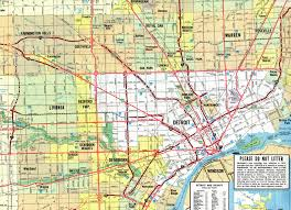 Warren Michigan Map by Interstate Guide Interstate 696 Michigan