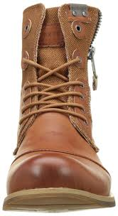 Bunker Por Men U0027s Biker Boots Marron Tan Shoes Buy Bunker Online