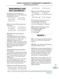 chemistry worksheets handouts atomic orbital fahrenheit