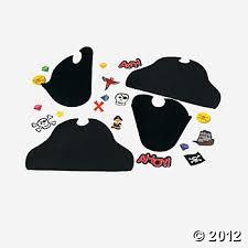 12 fabulous foam pirate hats hats u0026 masks craft kits u0026 projects