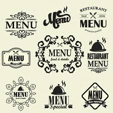 restaurant vintage labels ornaments free vector 21 096