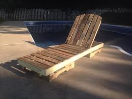 Poolside Chair Diy Pallet Outdoor Lounge Chair Poolside Chair Pallet