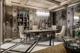 Gaya Interior Interior Luxury Art Deco Dining Room Art Deco Interior Design 59