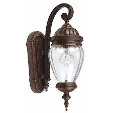 Portfolio Outdoor Lighting Lighting Portfolio Rubbed Bronze Outdoor Wall Lantern