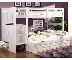 Bunk Bed With Trundle And Drawers Bunk Beds With Trundle Bothrametals