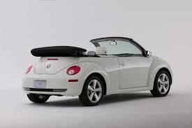 new volkswagen beetle convertible vw new beetle triple white limited edition