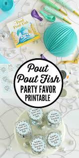 inexpensive party favors pout pout fish party favors