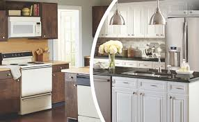 is cabinet refinishing worth it kitchen cabinet resurfacing ideas kitchens baths