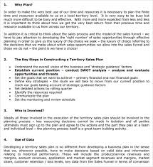 sample territory plan template 8 free documents in pdf word