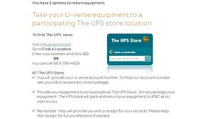 At T Universal Business Card Solved How To Return U Verse Equipment At U0026t Community