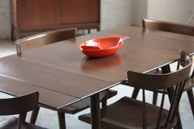 dining room table simple expandable dining table modern extension