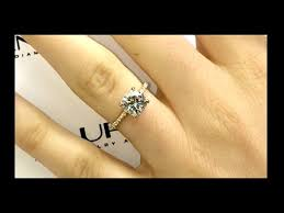 2 carat cushion cut diamond 2 carat square cushion cut diamond engagement ring in a gold