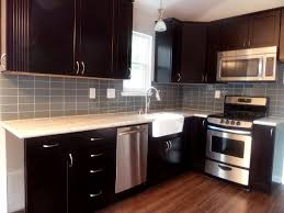 What Size Subway Tile For Kitchen Backsplash Backsplashes Ice Glass Subway Tile Linear Kitchen Backsplash