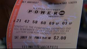 Powerball Map Winning Numbers Drawn In Powerball Jackpot Winner In California