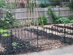 Types Of Fencing For Gardens - garden fencing lowes home outdoor decoration