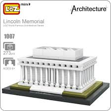 aliexpress com buy loz ideas mini blocks lincoln memorial