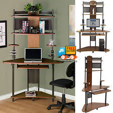 Computer Desk With Tower Storage by Tower Computer Desk Ebay