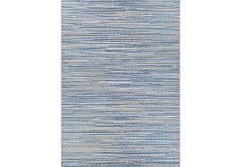 Blue Outdoor Rugs Maybole Blue 5 3 X 7 6 Indoor Outdoor Rug Rugs Blue