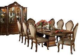 dining table 10 chair dining table size 10 piece cortina