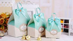 candy containers for favors 50pcs blue candy boxes party favors wedding box party