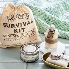 personalised u0027mum u0027s mini spa in a bag u0027 survival kit by the little