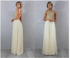 sequin top bridesmaid dresses charmming chiffon with top chagne gold sequin bridesmaid