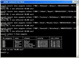 membuat database lewat cmd tutorial sederhana membuat database pada mysql welcome