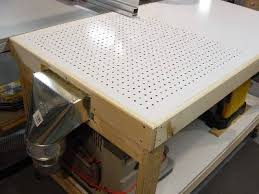 OutfeedAssemblyDowndraft Table - Downdraft table design