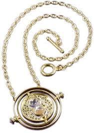 golden pendant necklace images Souq harry potter hermione time turner hourglass golden pendant jpg
