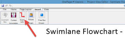Excel Swimlane Template Swimlane Flow Charts In Excel Onepager Express