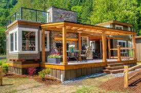 tiny house cottage wildwood lakefront cottages faber construction construction