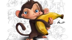 cute monkeys wallpapers group 64