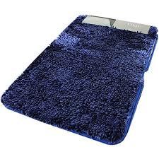 tappeti da bagno parure 3 pezzi tappeto da bagno antiscivolo shaggy thai 5 colori